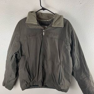 Heavy Columbia Jacket Brown M